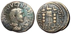 Ancient Coins - Philip I, 244 - 249 AD, AE26, Antioch Mint