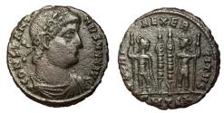 Ancient Coins - Constantine I, 306 - 337 AD, Follis of Thessalonica
