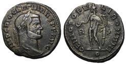 Ancient Coins - Doicletian, 284 - 305 AD, Follis of Rome, Genius