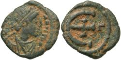 Ancient Coins - Justinian I, 527 - 565 AD, Pentanummium of Antioch