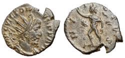 Ancient Coins - Victorinus, 269 - 271 AD, Antoninianus of Colonia Agrippinensis, Sol