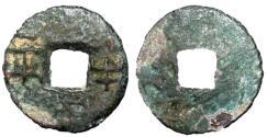 Ancient Coins - H7.8.  Western Han Dynasty, Empress Lu Zhi, 186 - 182 BC, AE 8 Zhu