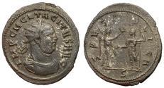 Ancient Coins - Tacitus, 275 - 276 AD, Antoninianus of Siscia