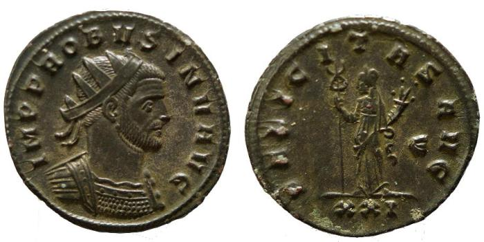 Ancient Coins - Probus, 276 - 282 AD, Antoninianus, Siscia Mint, Unpublished??