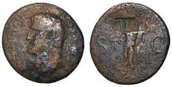 Ancient Coins - Agrippa, Issue by Caligula, Countermarked for British Use