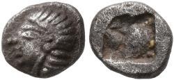 Ancient Coins - Ionia, Kolophon, 530 - 500 BC, Silver Hemiobol