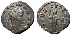 Ancient Coins - Gallienus, 253 - 268 AD, Antoninianus with Securitas
