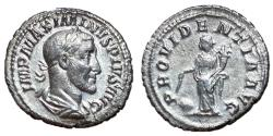 Ancient Coins - Maximinus I, 235 - 238 AD, Silver Denarius, Providentia