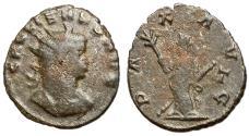 Ancient Coins - Gallienus, 253 - 268 AD, Antoninianus of Rome, Pax