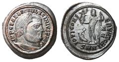 Ancient Coins - Licinius I, 308 - 324 AD, Follis of Nicomedia, Jupiter