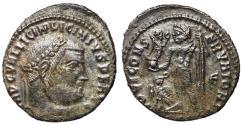 Ancient Coins - Licinius I, 308 - 324 AD, Follis of Uncertain Mint, Jupiter