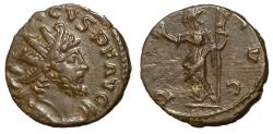 Ancient Coins - Tetricus I, 271 - 274 AD, Antoninianus with Pax
