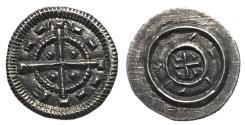 World Coins - Hungary, Bela II, 1131 - 1141 AD, Mint State Silver Denar