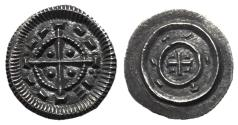 World Coins - Hungary, Bela II, 1131 - 1141 AD, Mint State Silver Denar