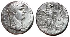 Ancient Coins - Nero, 54 - 68 AD, Silver Tetradrachm, Antioch