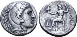 Ancient Coins - Kings of Macedon, Kassander, 310 - 297 BC, Silver Tetradrachm, Ouranopolis Mint