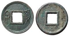 Ancient Coins - H9.32.  Xin Dynasty, Emperor Wang Mang, 7 - 23 AD, AE Five Zhu