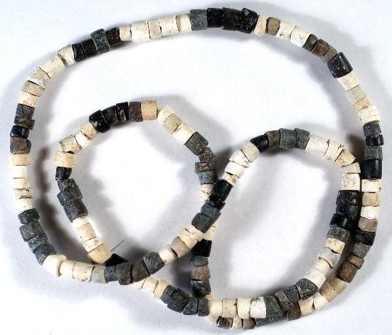 Ancient Coins - Sumerian Bead Necklace, 3rd Millennium BC
