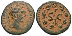 Ancient Coins - Antoninus Pius, 138 - 161 AD, AE Semis, Antioch