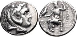 Ancient Coins - Asia Minor, Uncertain Mint, 320 - 280 BC, Silver Tetradrachm, Unpublished