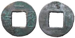 Ancient Coins - Eastern Han Dynasty, Private Issues, 146 - 190 AD, AE Five Zhu, Horizontal Obverse Stroke