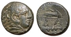 Ancient Coins - Kings of Macedon, Alexander III, 325 - 310 BC, AE17, Uncertain Macedonian Mint