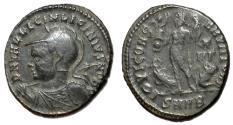 Ancient Coins - Licinius II, as Caesar, 308 - 324 AD, Follis of Heraclea, Rare