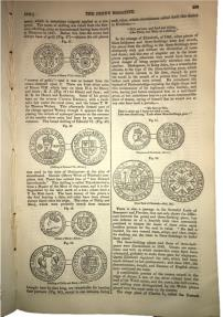 Ancient Coins - British Paper from 1836 Detailing Coinage of Edward III and Later