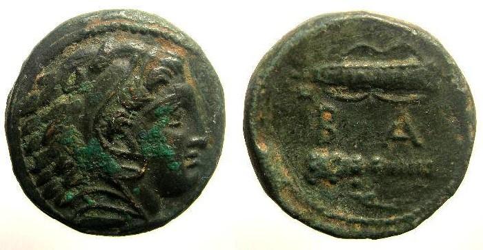 Ancient Coins - Kingdom of Macedonia, Alexander III, 336 - 323 BC, Æ Unit