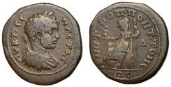 Ancient Coins - Geta, 209 - 212 AD, Tetrassarion of Tomis, Extremely Rare