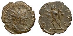 Ancient Coins - Victorinus, 269 - 271 AD, Antoninianus with Sol