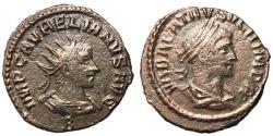 Ancient Coins - Vabalathus with Aurelian, 270 - 272 AD, Antoninianus of Antioch