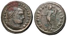 Ancient Coins - Maximianus, 286 - 305 AD, Follis of Heraclea, Genius