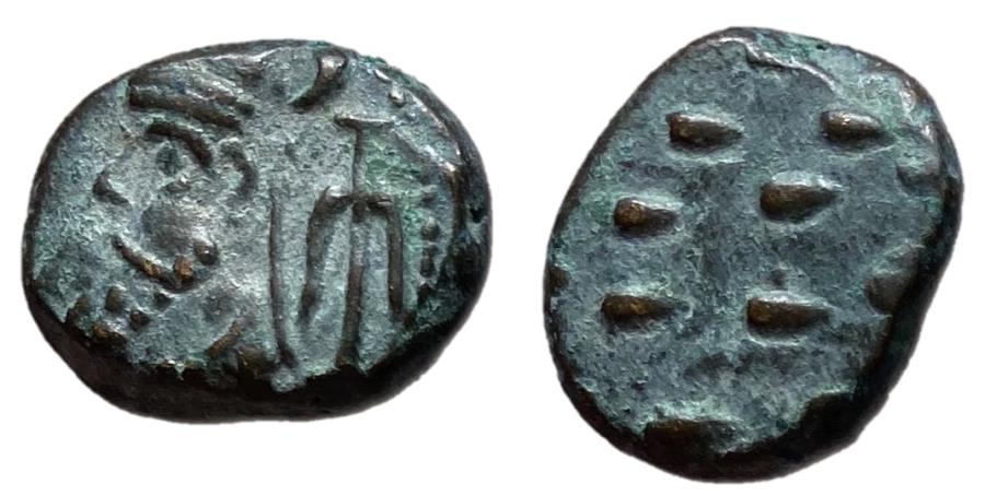 Ancient Coins - Kings of Elymais, Phraates, 2nd Century AD Drachm