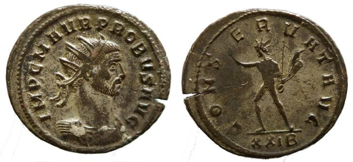 Ancient Coins - Probus, 276 - 282 AD, Antoninianus, Siscia Mint