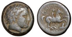 Ancient Coins - Kings of Thrace, Lysimachos, 305 - 281 BC, AE18