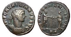 Ancient Coins - Aurelian, 270 - 275 AD, Antoninianus of Rome, With Concordia
