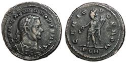 Ancient Coins - Maximianus, 305 - 307 AD, Follis of London