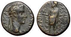 Ancient Coins - Claudius I, 41 - 54 AD, AE17 of Aizanis