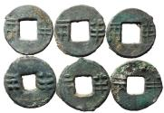 Ancient Coins - Western Han Dynasty Five Zhu's, 175 - 119 BC