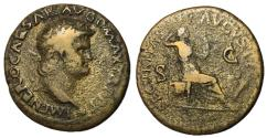 Ancient Coins - Nero, 54 - 68 AD, Dupondius, Securitas