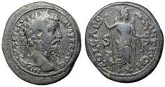 Ancient Coins - Septimius Severus, 193 - 211 AD, Eight Assaria of Antioch