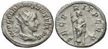 Ancient Coins - Gordian III, 238 - 244 AD, Silver Antoninianus, Securitas