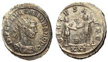 Ancient Coins - Carinus, as Caesar, 282 - 283 AD, Antoninianus of Antioch