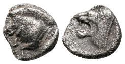 Ancient Coins - Mysia, Kyzikos, 450 - 400 BC, Silver Obol