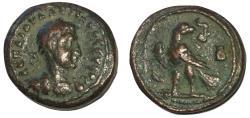 Ancient Coins - Valerian I, 253 - 260 AD, Billon Tetradrachm of Alexandria, Eagle