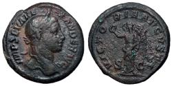 Ancient Coins - Severus Alexander, 222 - 235 AD, AE As, Victory
