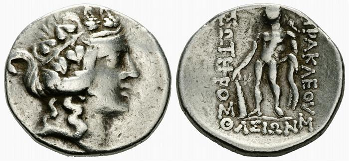Ancient Coins - Isles off Thrace, Thasos, After 148 BC, Silver Tetradrachm