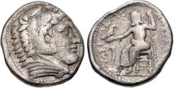 Ancient Coins - Kingdom of Macedonia, Philip III, 323 - 317 BC, Silver Tetradrachm, Amphipolis Mint