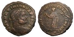 Ancient Coins - Maximianus, 286 - 305 AD, Follis of Carthage